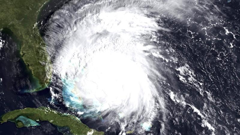 Der Hurrikan 'Irene' bedroht die Ostküste der USA.