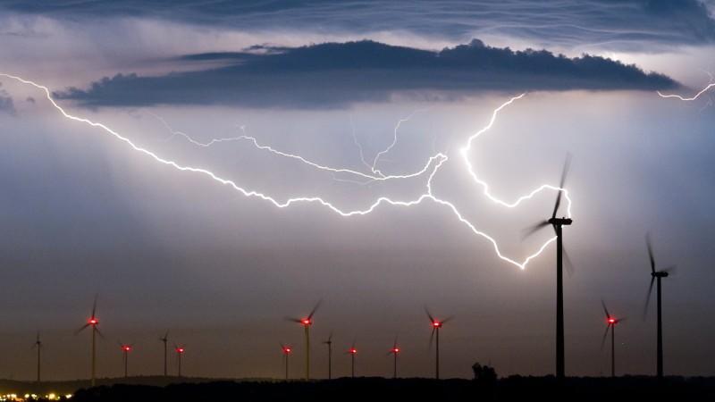 Schlimme Gewitter über ganz Deutschland