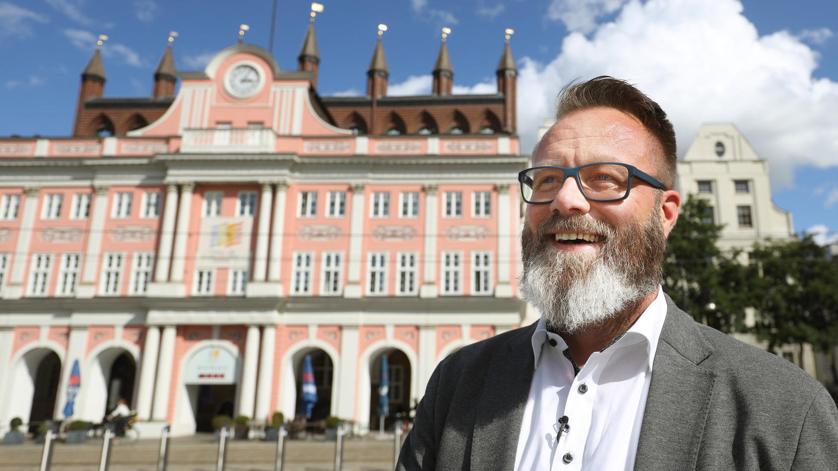 Laut Oberbürgermeister Claus Ruhe Madsen ist Rostock aktuell Corona-frei.