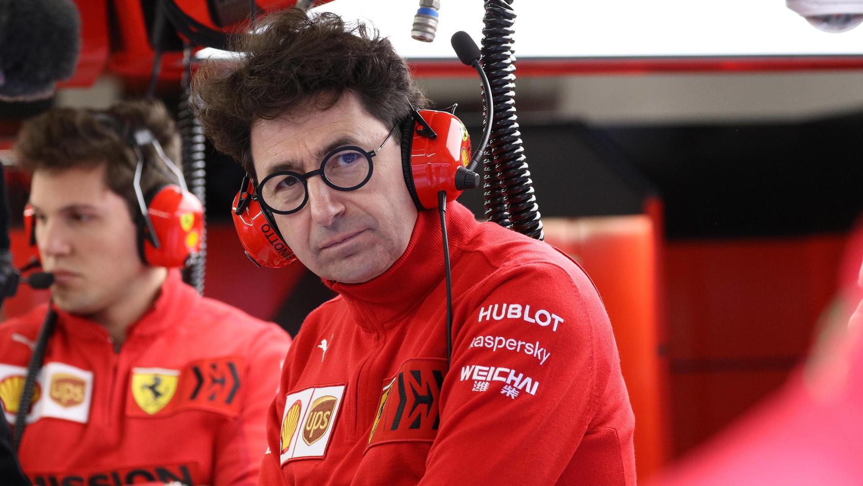 Mattia Binotto will mit Ferrari hoch hinaus