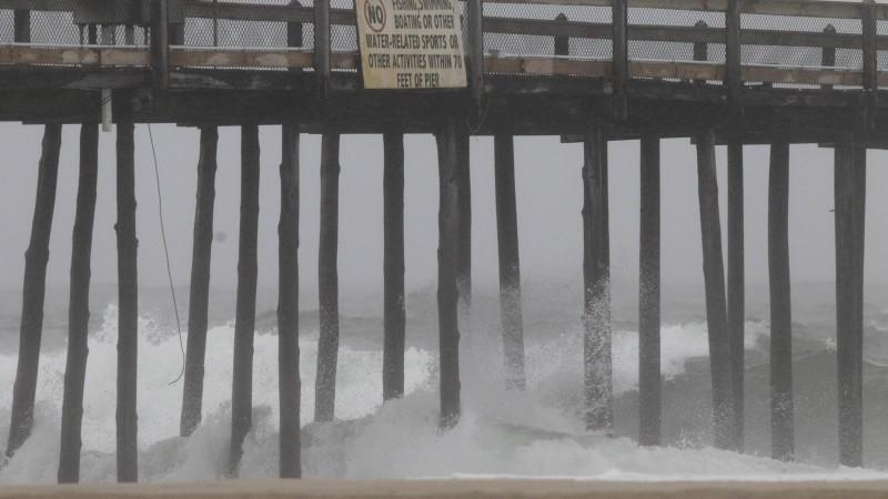Wirbelsturm 'Irene' hat die US-Ostküste erreicht