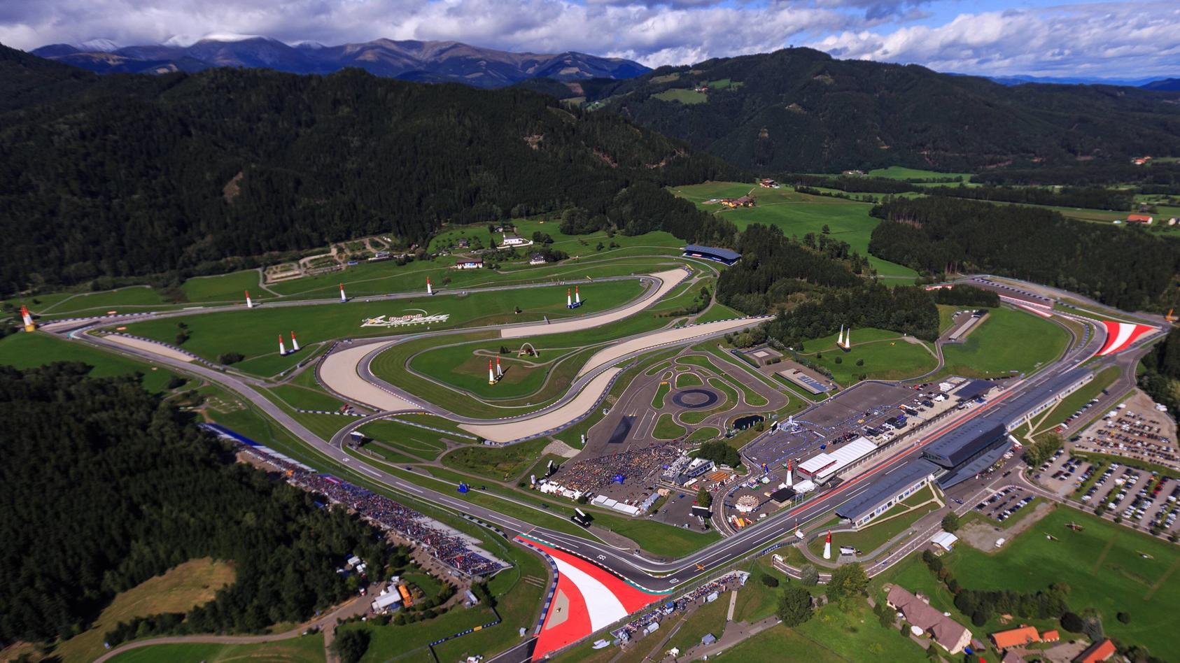 Auf dem Red Bull Ring in Spielberg finden auch 2021 wieder zwei Rennen statt
