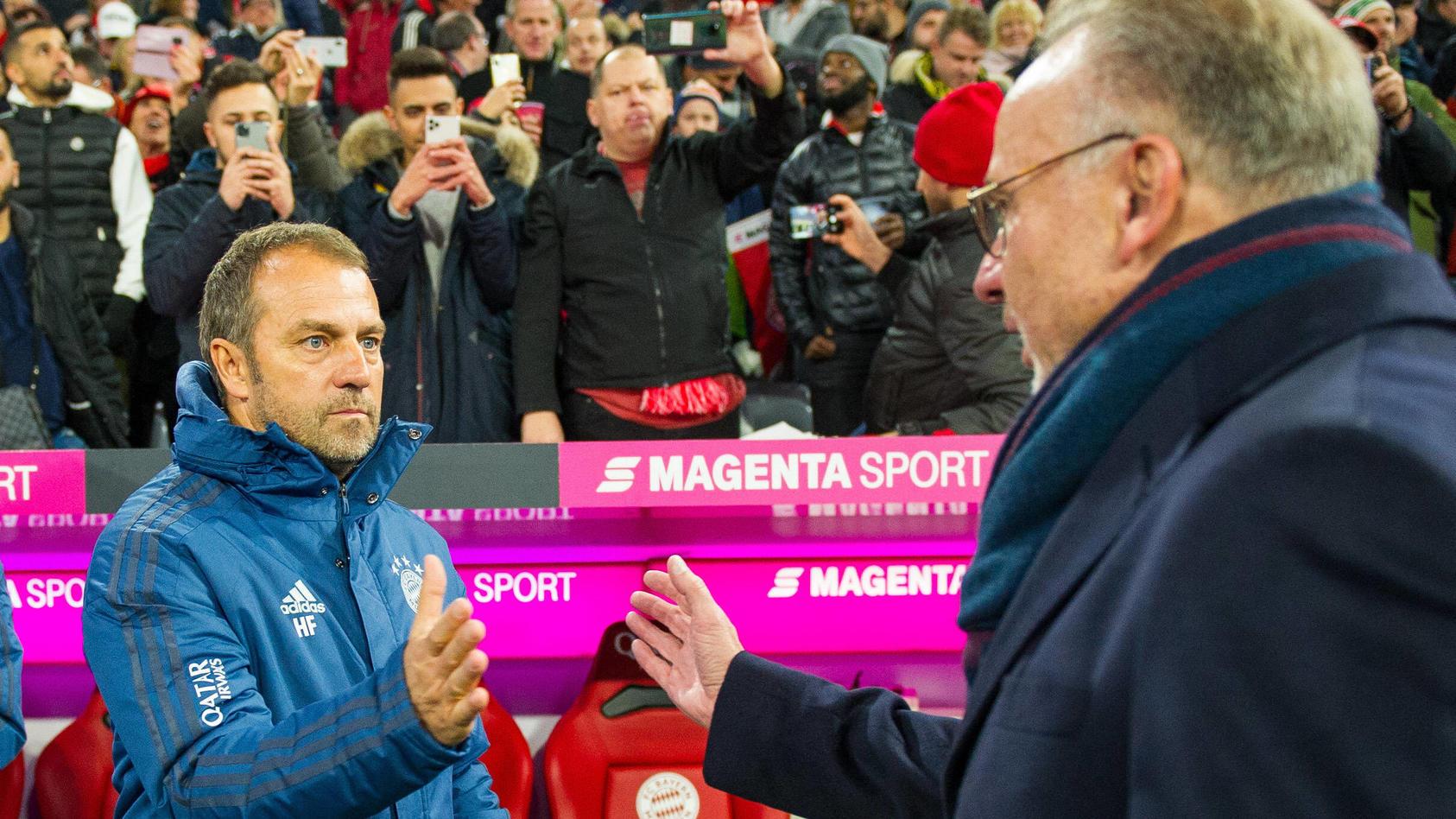 Fußball: 1. Bundesliga 11. Spieltag, FC Bayern München - Borussia Dortmund am 09.11.2019 im Allianz Arena in München. (