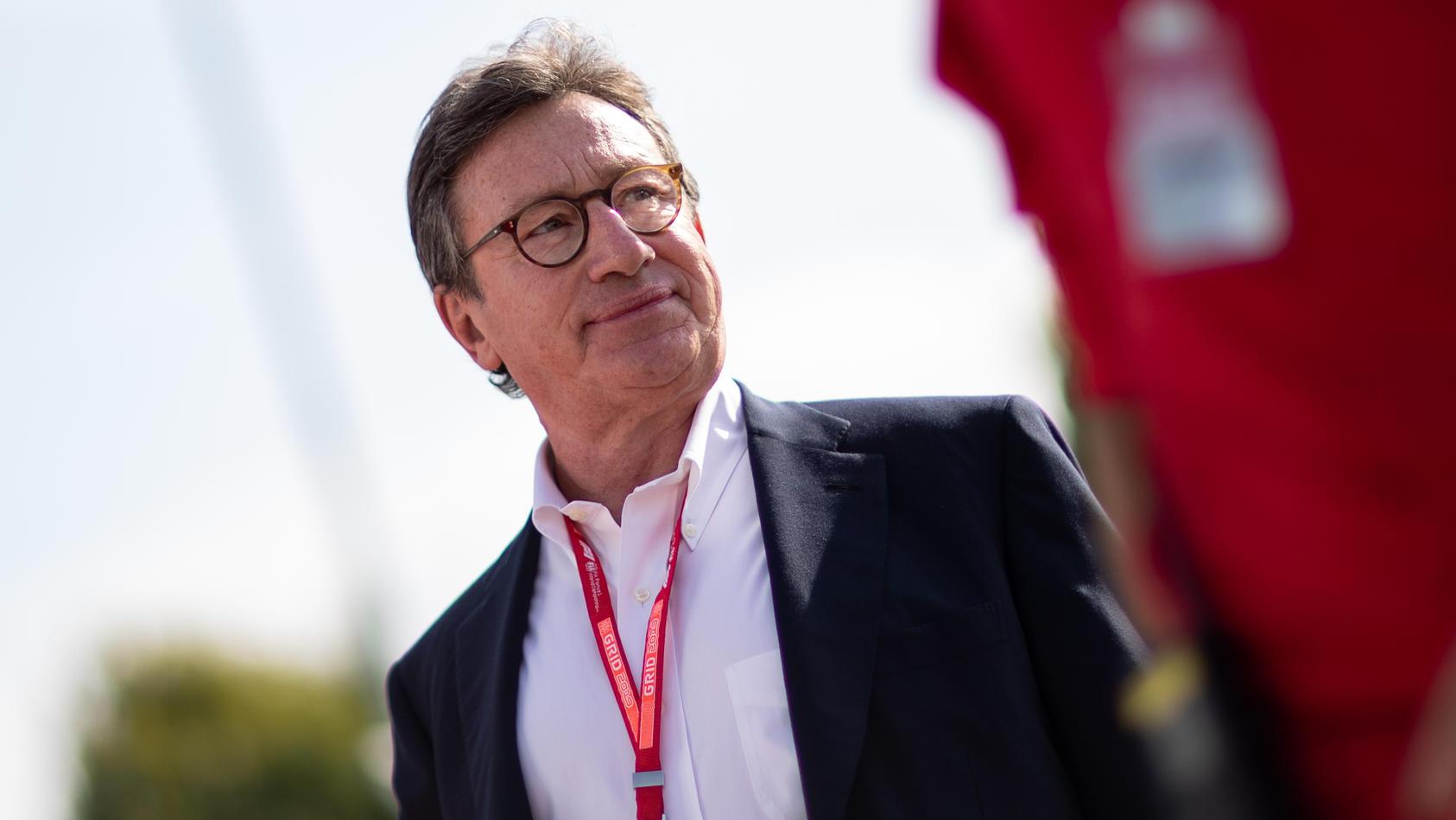 Ferrari-CEO Louis Camilleri