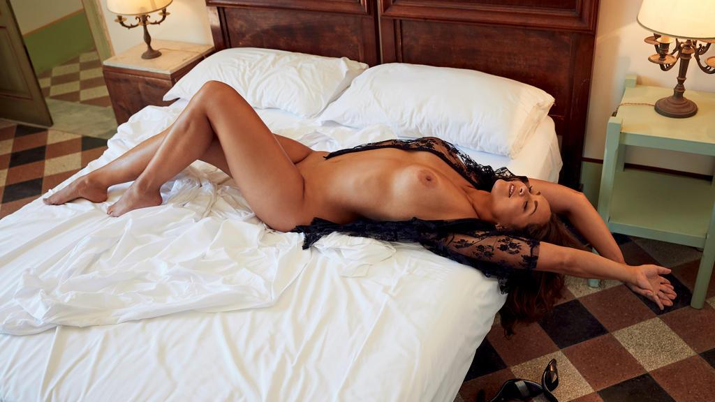 Ines Quermann präsentiert sich im Playboy selbstbewusster denn je.