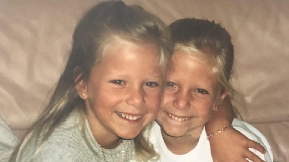 Die süßen Pahde-Zwillinge als kleine Kinder.