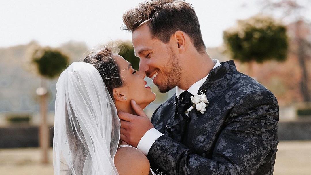 Angelina und Sebastian Pannek haben im April 2020 geheiratet
