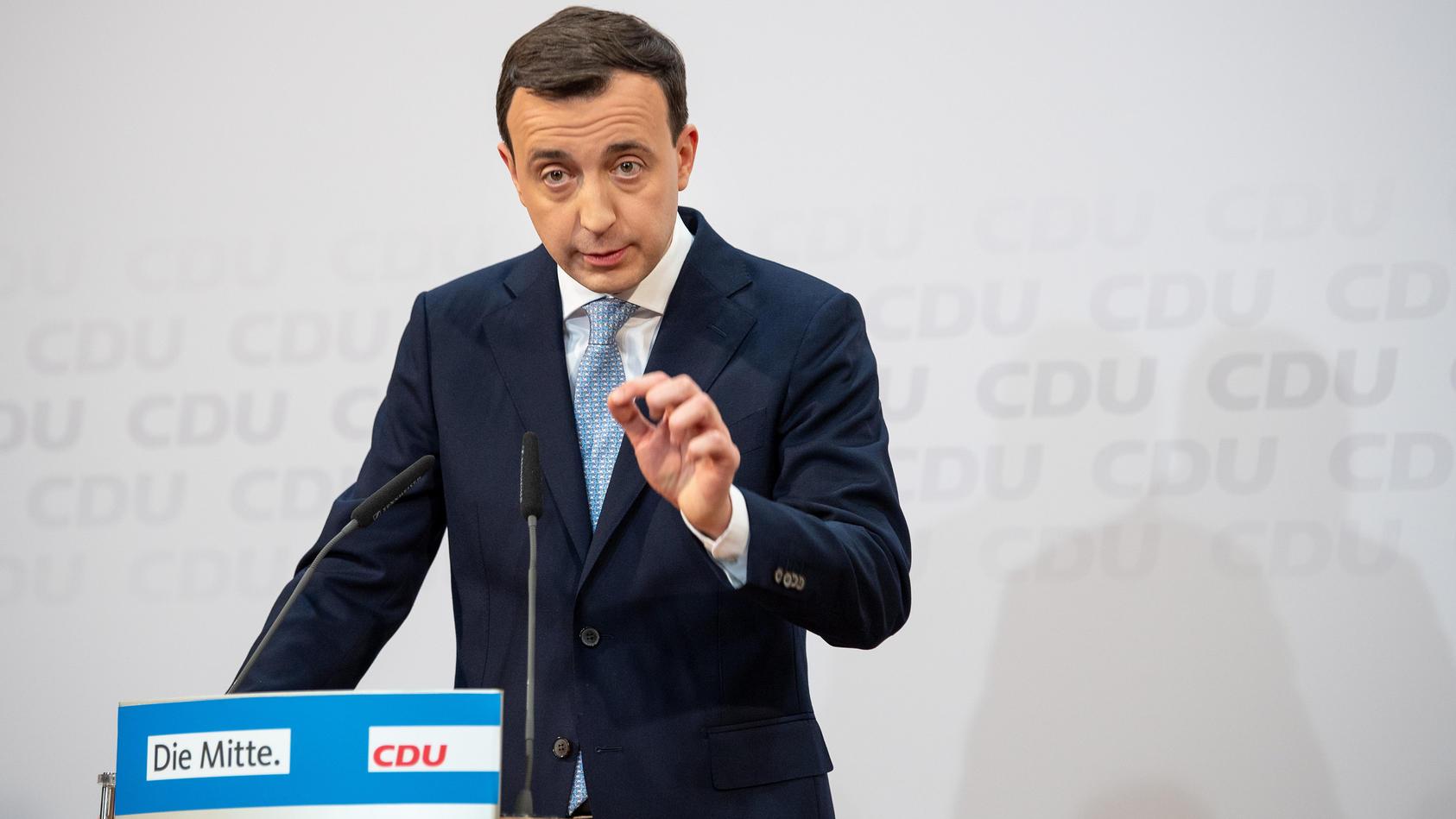"Paul Ziemiak warnt vor ""demokratiefeindlicher Propaganda"""