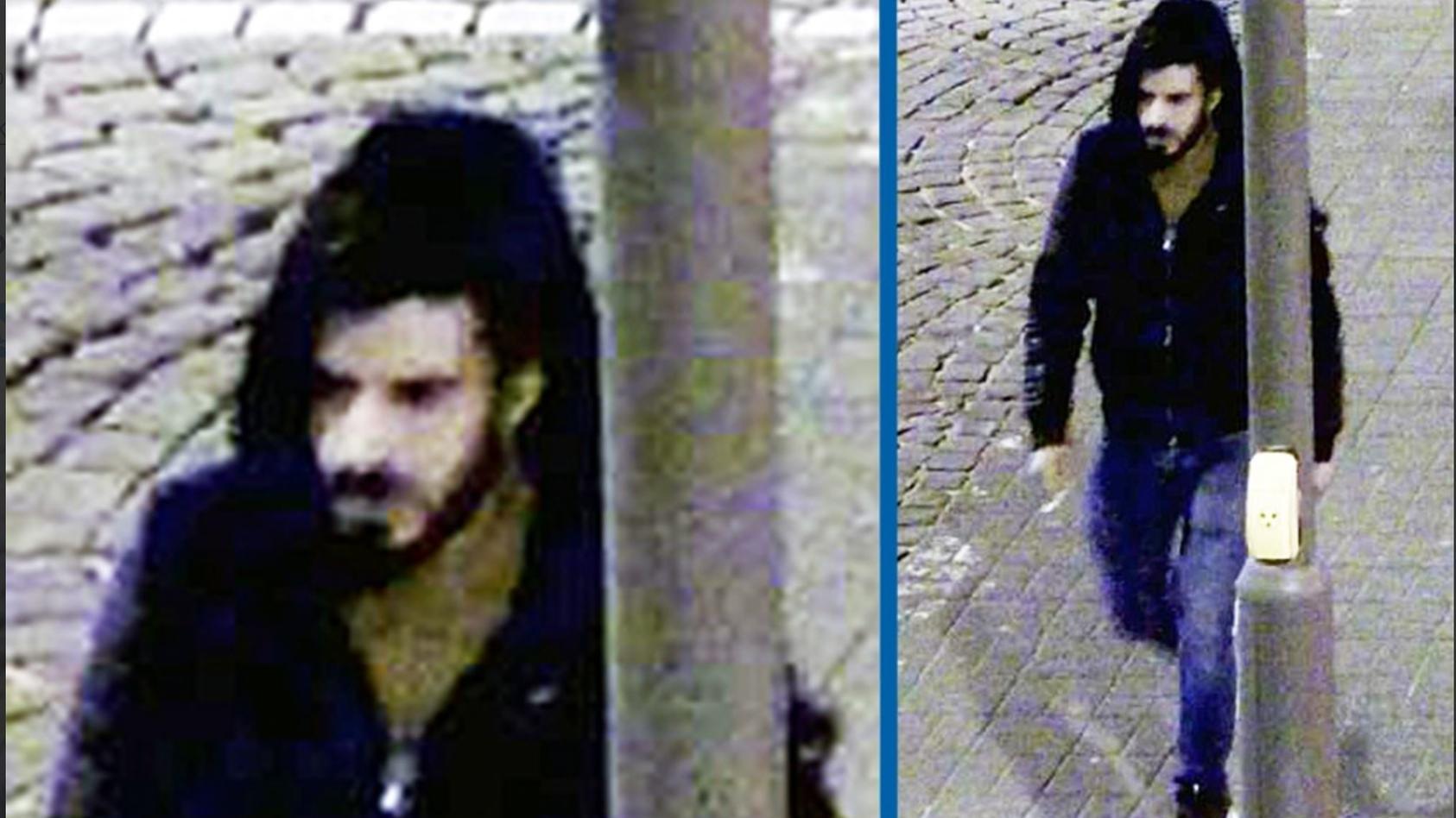 Die Kölner Polizei fahndet mit diesem Bild nach einem mutmaßlichen Sexualstraftäter.