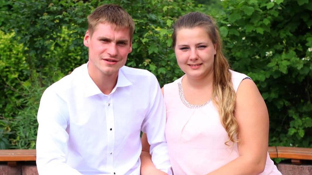 Sarafina Wollny und ihr Mann Peter.