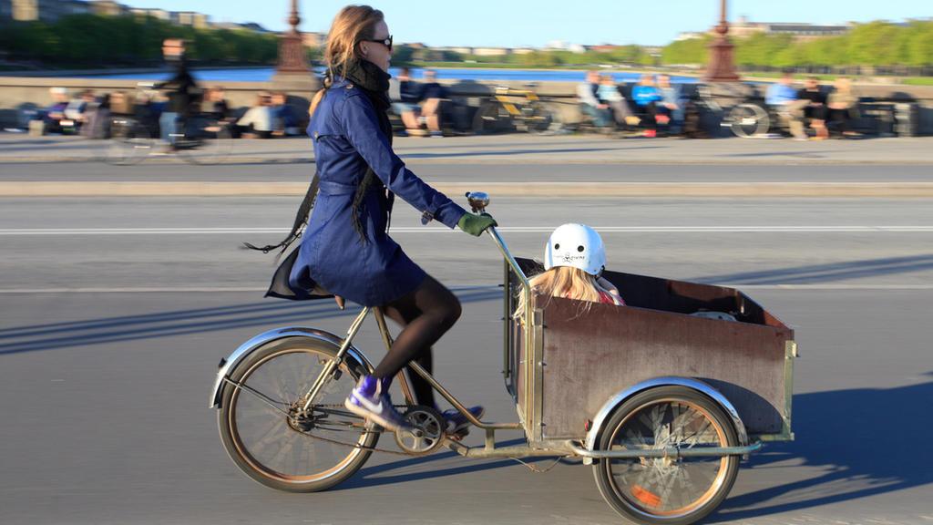 Radeln statt Autofahren - das ist besser für uns auf der Erde