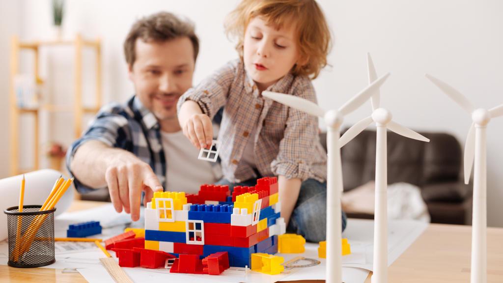 Machen wir eine Challenge aus dem Energiesparen. Kinder lieben das!
