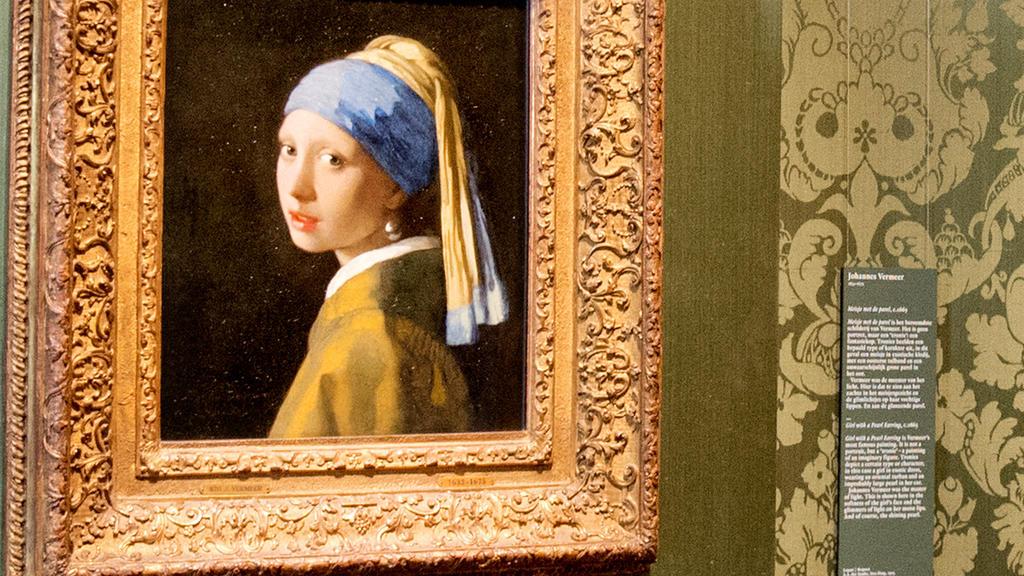 """Der echte Vermeer: """"Das Mädchen mit dem Perlenohrring"""""""
