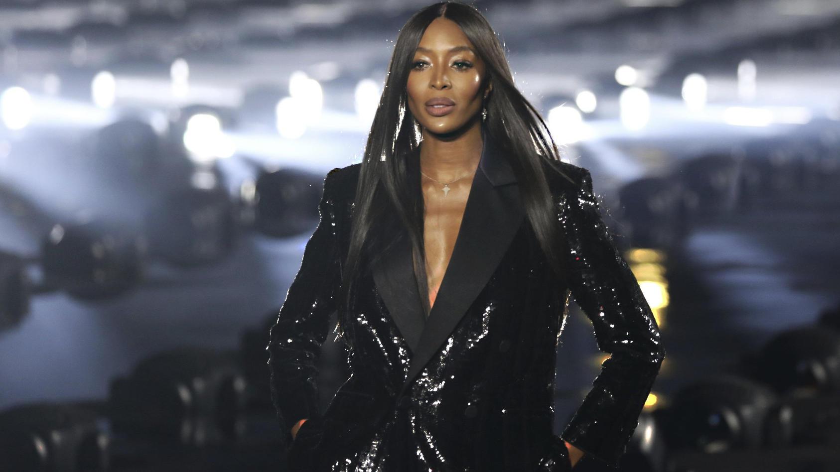 Supermodel Naomi Campbell wird 50