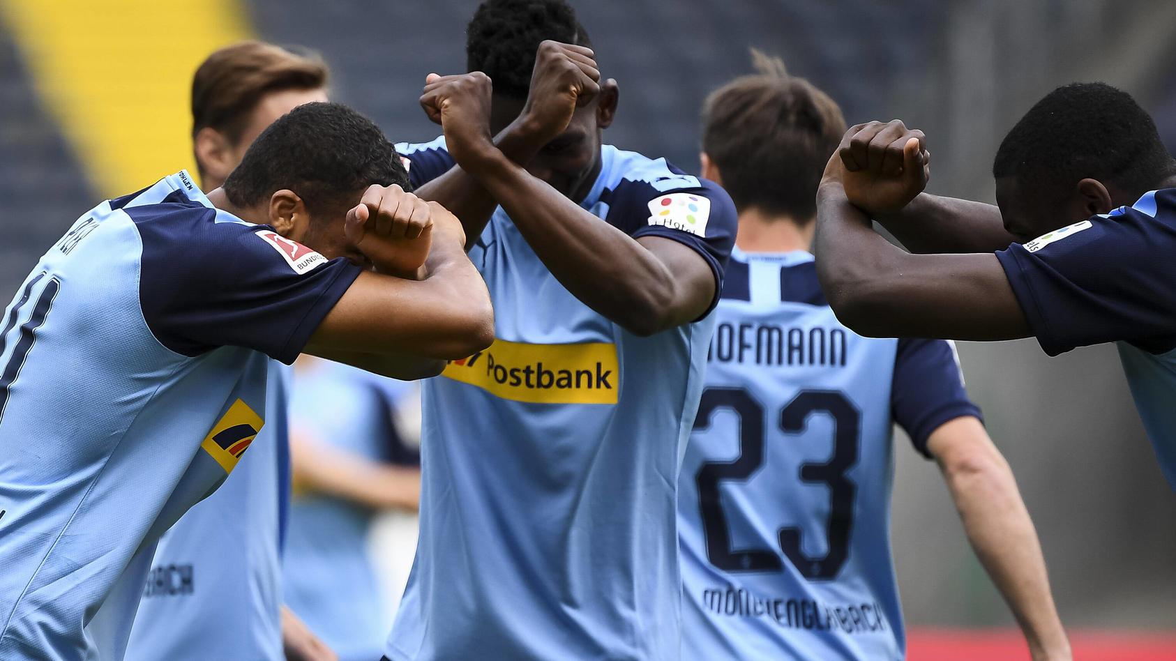 Fussball 1.Bundesliga, Eintracht Frankfurt - Borussia Moenchengladbach 16.05.2020, xjhx, Fussball 1.Bundesliga, 26.Spiel