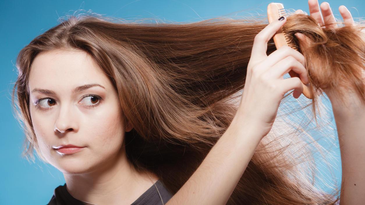 Trockene Haare benötigen eine besondere Pflege