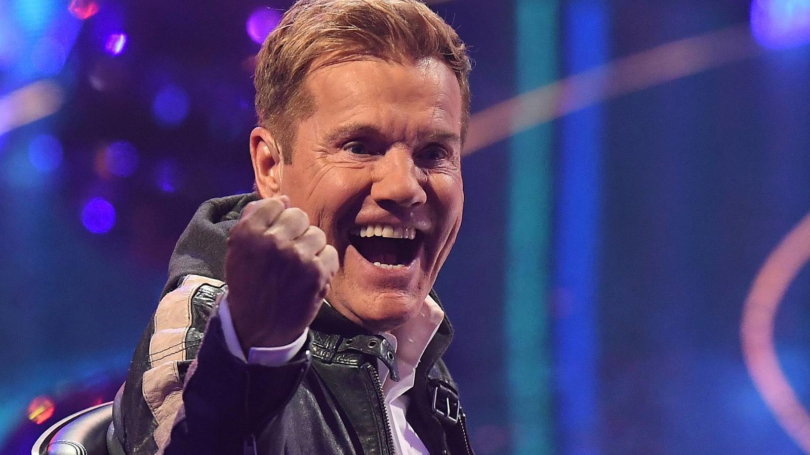Für Supertalent-Juror Dieter Bohlen war im Finale schon Weihnachten.