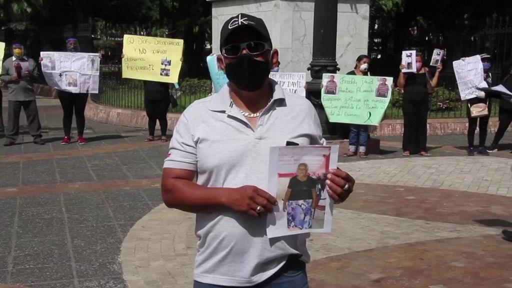 Victor Espinoza auf der Suche nach seiner Mutter.