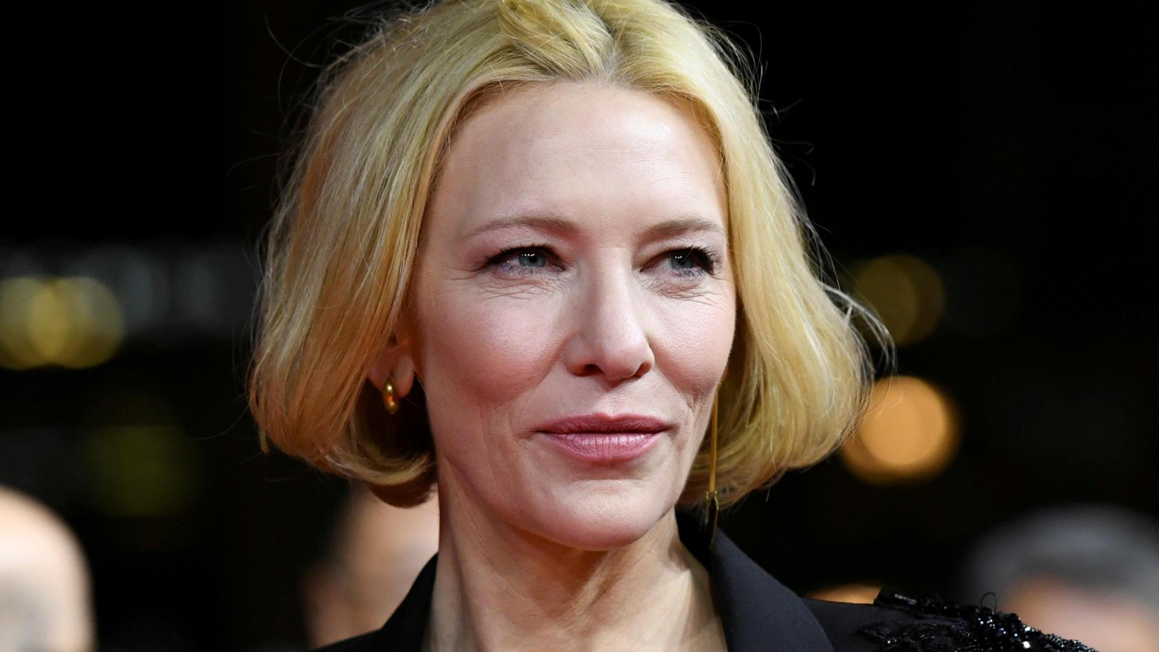 Glück im Unglück: Bei einem Unfall mit einer Kettensäge verletzte sich Cate Blanchett leicht