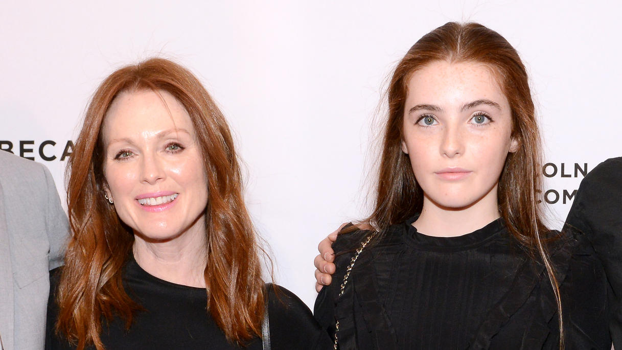 Julianne Moore und ihre Tochter Liv.