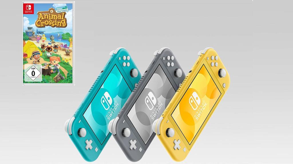 Nintendo Switch Lite und Animal Crossing im Bundle
