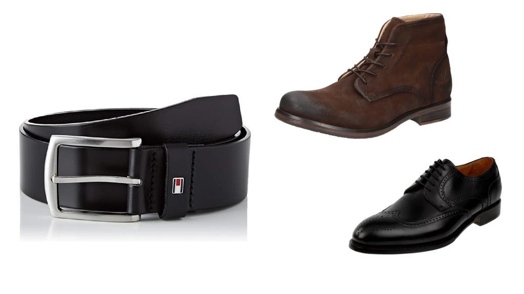 Schuhe von Berwick, Sansibar und Gürtel von Tommy Hilfiger.