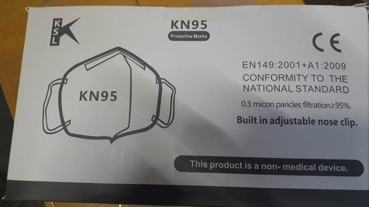 Vor den Masken der Firma KSL warnt das Europäische Schnellwarnsystem Rapex auch.