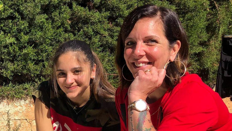 Danni Büchner und ihre Tochter Jada