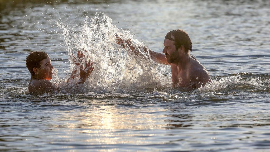 Der Juli war zu warm. Auch ohne Badewetter