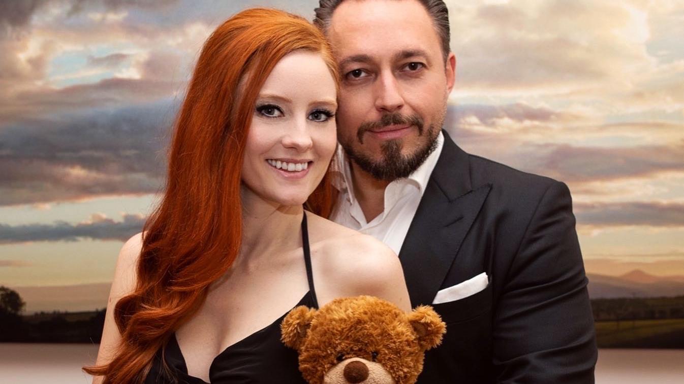Barbara Meier mit ihrem Mann Klemens Hallmann