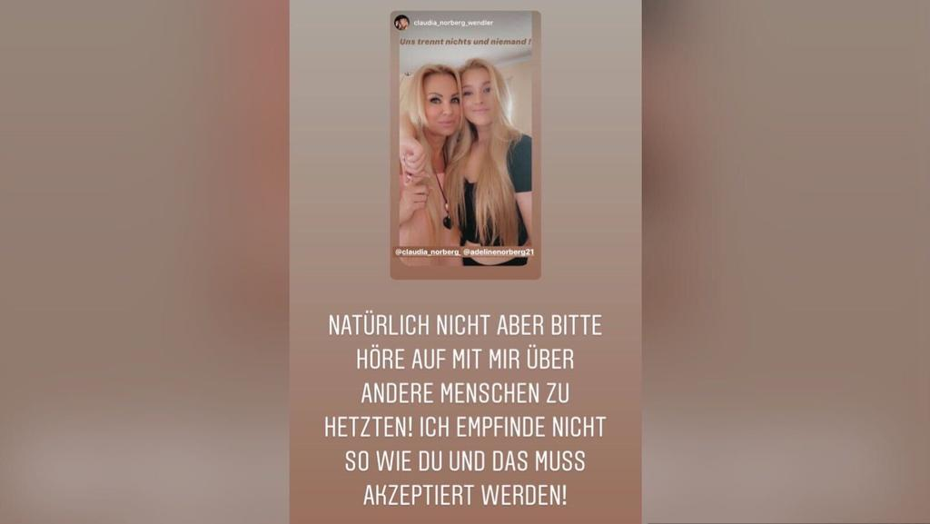 Namenszoff: Adeline Norberg richtet klaren Appell an Mama Claudia