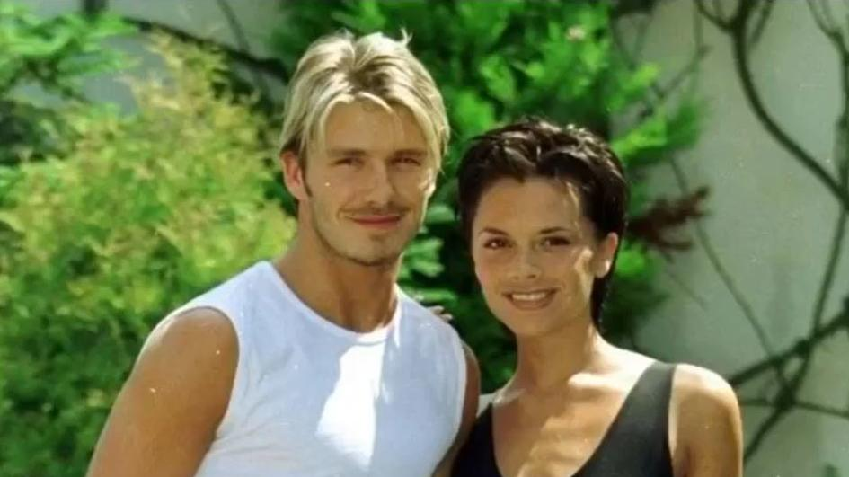 Dieses süße Foto postete Victoria Beckham zu ihrem 21. Hochzeitstag.