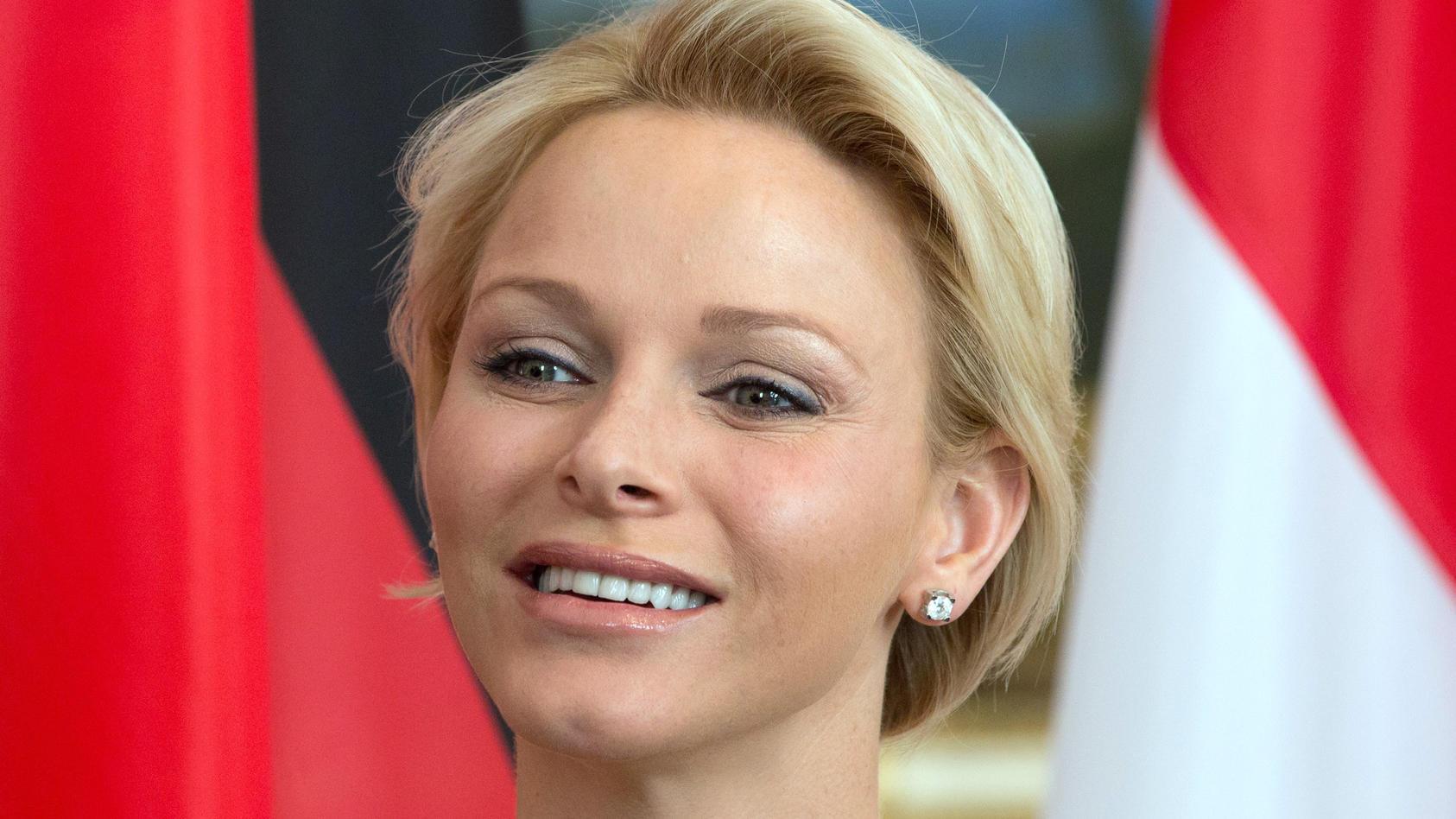 Fürstin Charlene von Monaco.