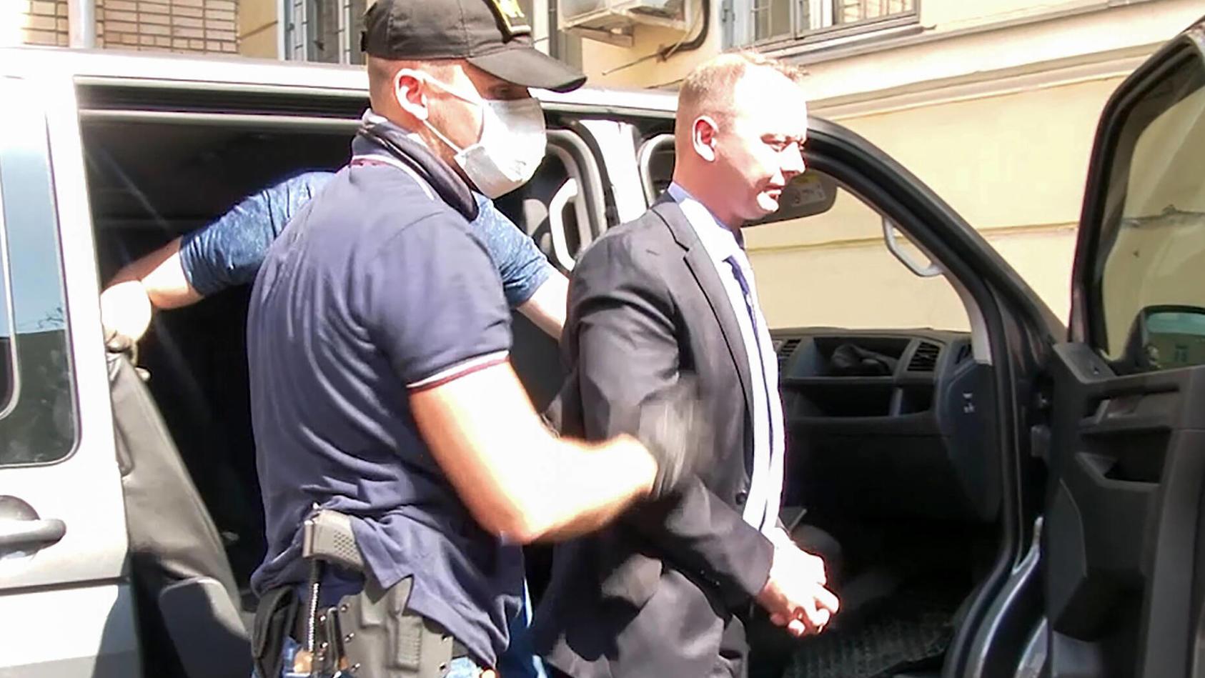 Russland, Iwan Safronow wegen Verdachts der Spionage festgenommen