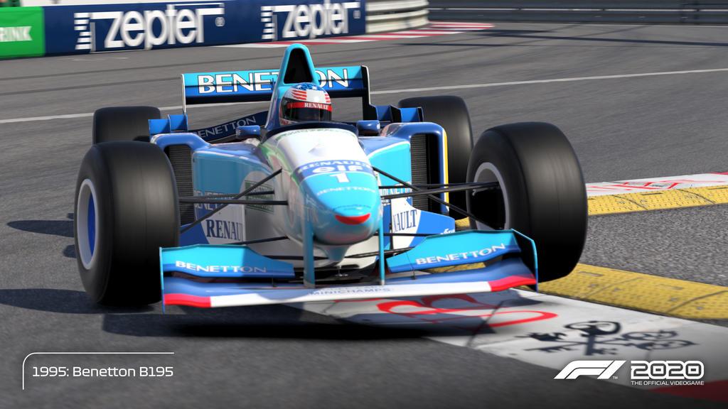 F1 -2020- Schumacher_Benetton_95_Monaco