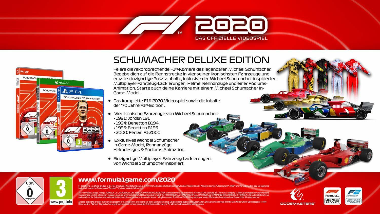 'F1 2020' - das offizielle Game zur Formel-1-Saison