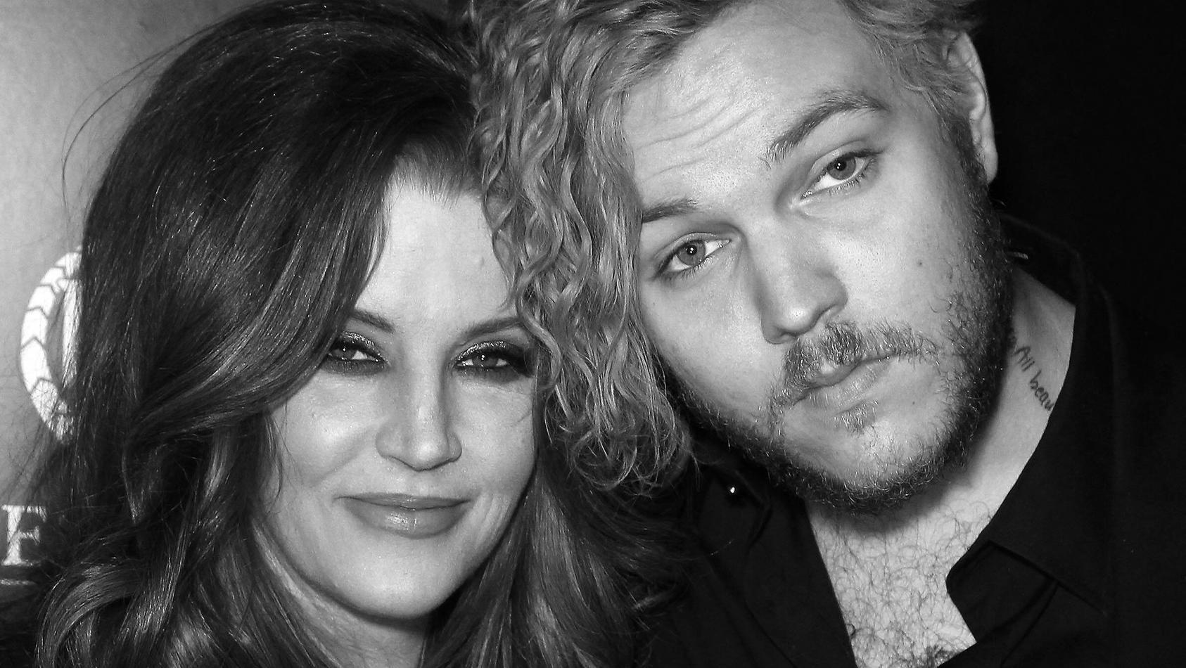 Lisa Marie Presley und Benjamin Keough in glücklichen Zeiten