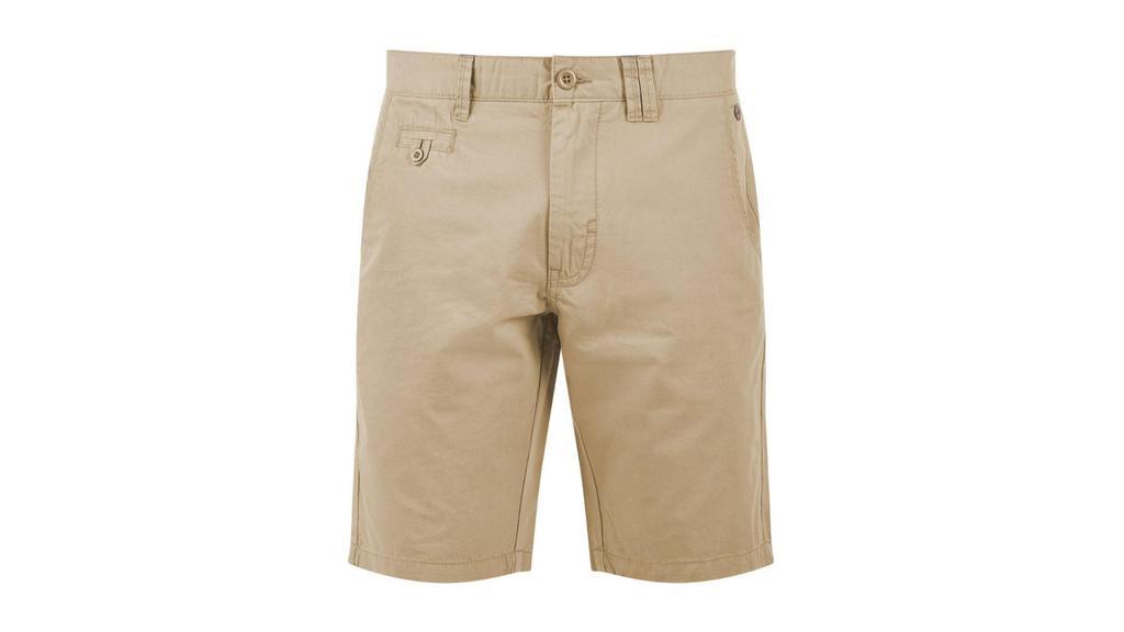 Beige Shorts.