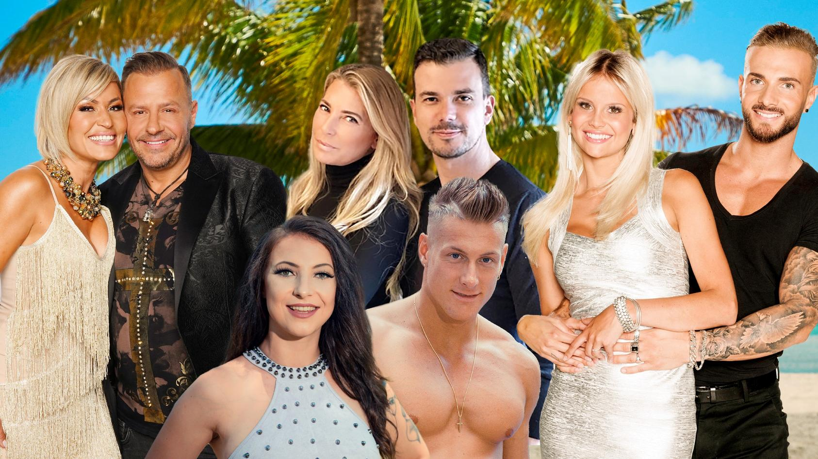 Jasmin & Willi, Roxy & Calvin, Giulia & Ludwig und Stephi & Julian testen ihre Liebe auf Temptation Island!