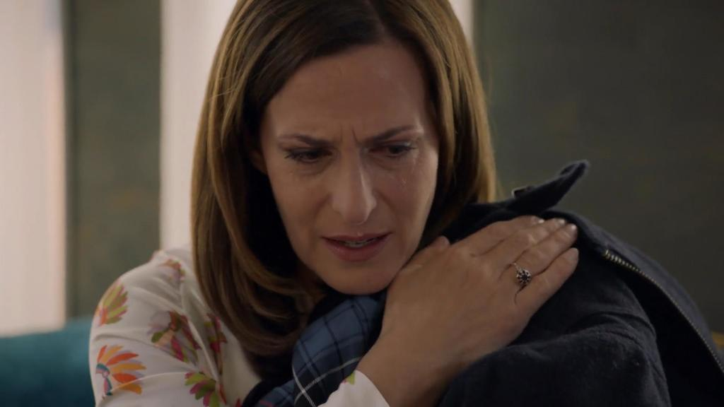 Bei dieser Szenen fiel Ulrike Frank das Weinen nicht schwer.