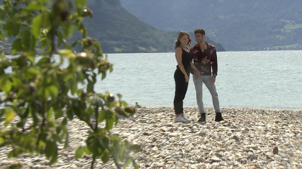 Aktuell verbringen Christina und Luca zusammen Zeit in der Schweiz.