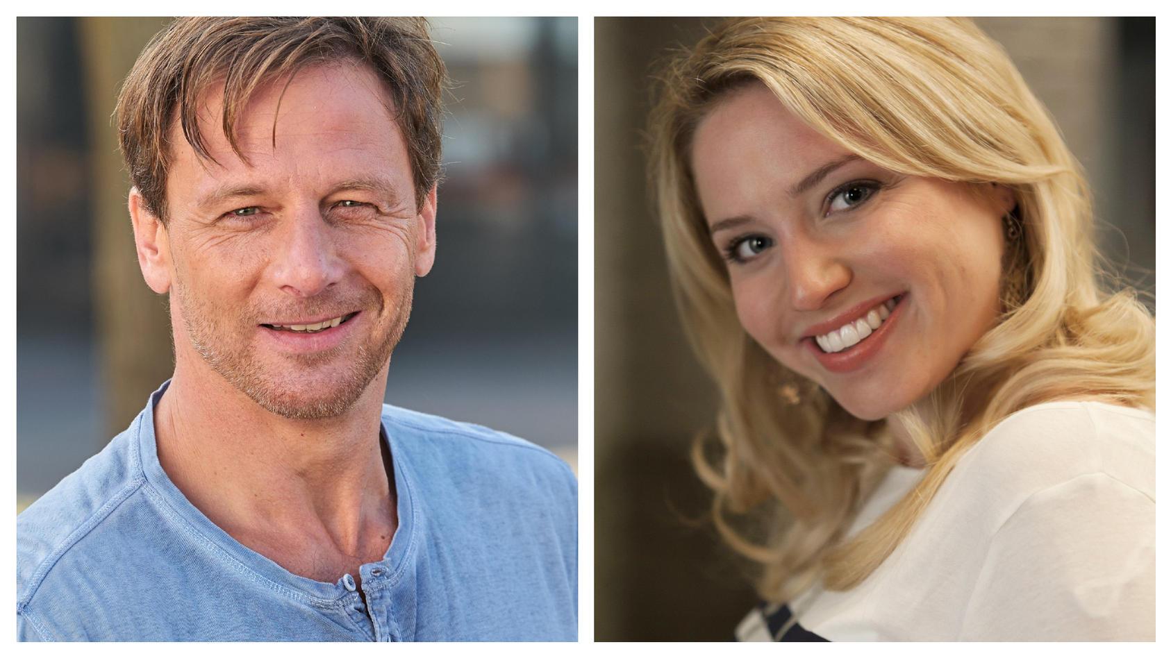 """Fans von Hendrik Duryn und Caroline Maria Frier können sich freuen: Schon bald wird es neue Staffeln von """"Der Lehrer"""" und """"Schwester, Schwester"""" geben."""