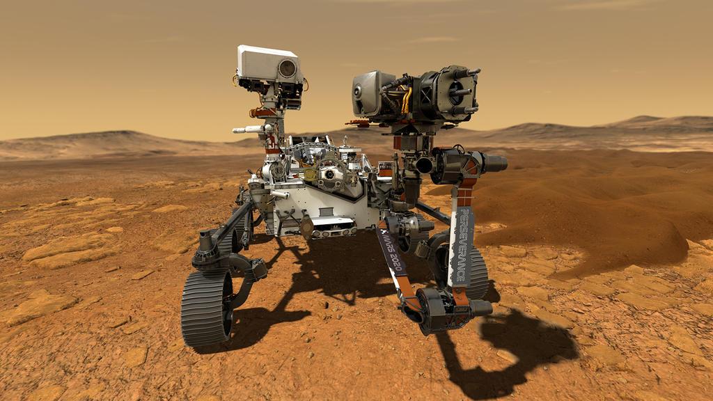 Der Mars-Rover braucht ungefähr 11 Tage, um die Probe auf dem Mars zu entnehmen.