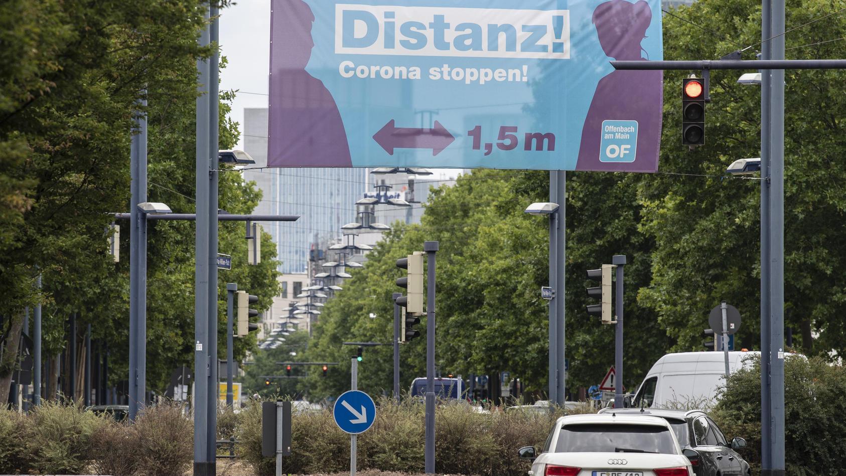 Coronavirus - Immer mehr Fälle in Offenbach