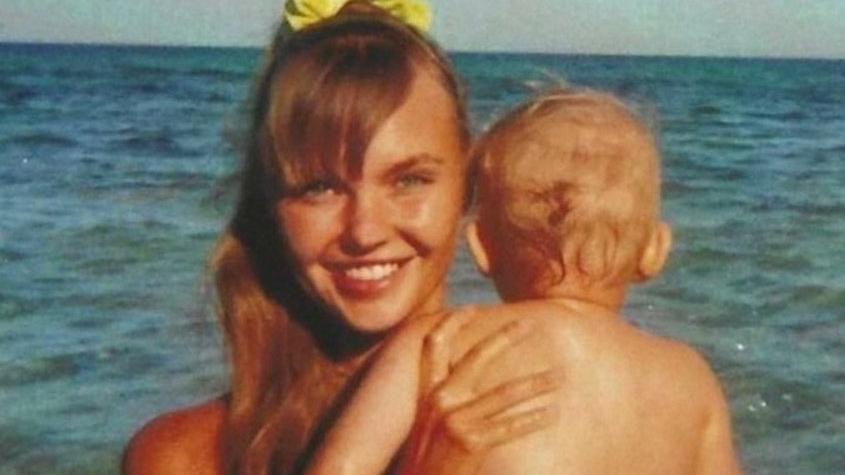 Bonnie Strange mit Töchterchen Goldie
