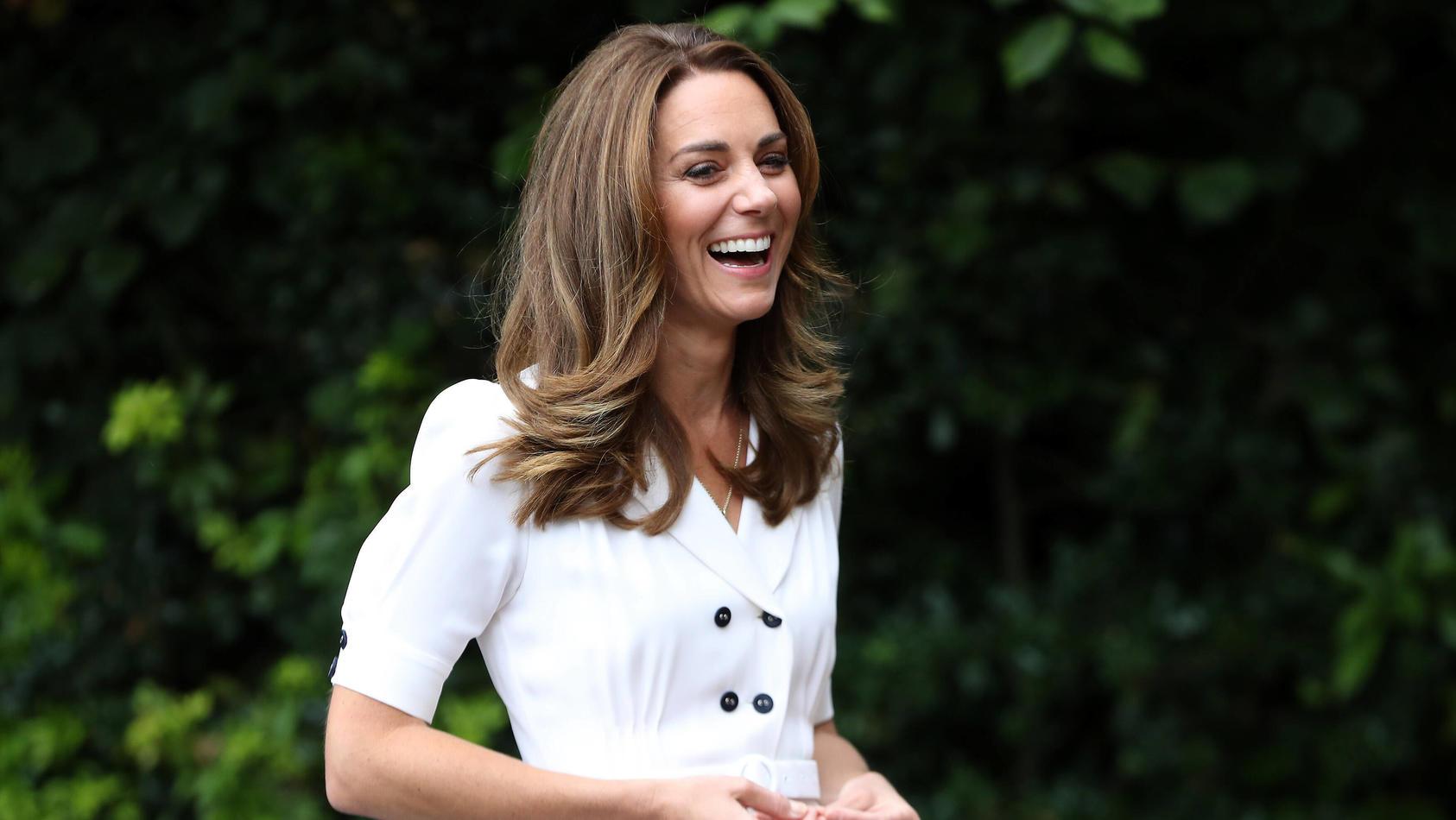 Herzogin Kate bei einem öffentlichen Auftritt im August 2020.