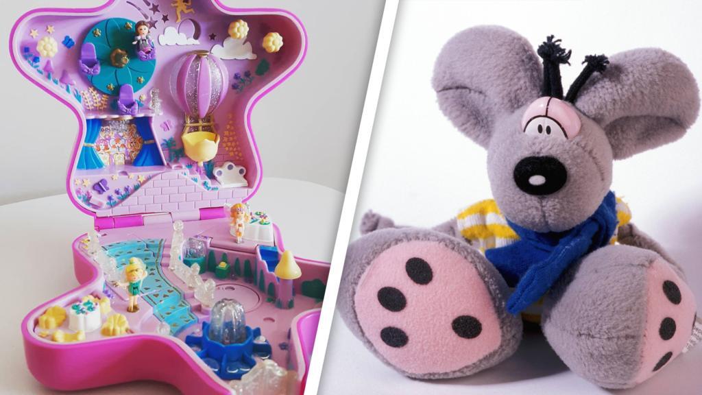 Von Polly Pocket üder Lego bis hin zur Diddl-Maus: Was sind alte Spielzeuge heute wert?
