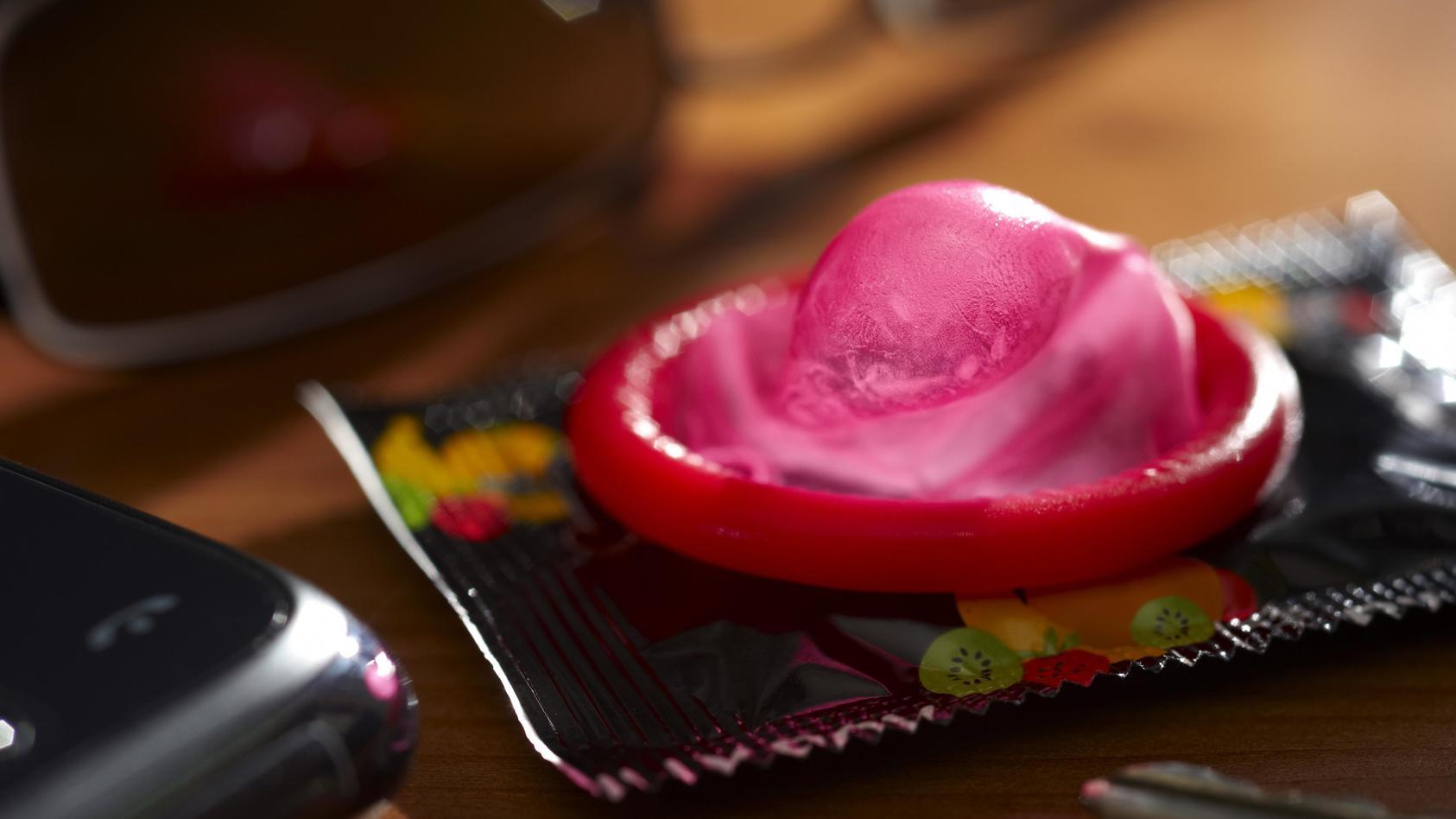 Sex kondom beim Sex Mit