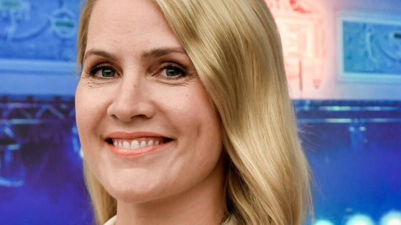 Nachrichtensprecherin Judith Rakers ist eine begeisterte Reitsportlerin.