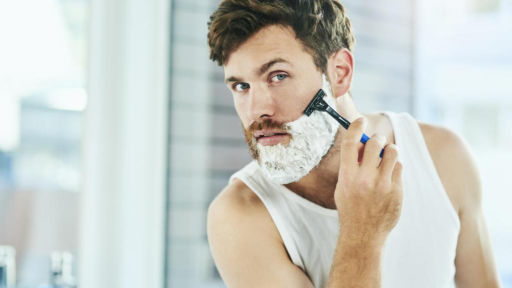 Bartpflege mit Seife liegt im Trend